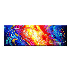 Matthew's Art Gallery - Oil Painting Abstract Art on Canvas Decor Parallel Universe - The Painting: Parallel Universe