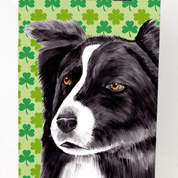 Caroline's Treasures - Border Collie Shamrock Portrait Michelob Ultra Koozies for slim cans - Border Collie St. Patrick's Day Shamrock Portrait Michelob Ultra Koozies for slim cans SC9287MUK Fits 12 oz. slim cans for Michelob Ultra, Starbucks Refreshers, Heineken Light, Bud Lite Lime 12 oz., Dry Soda, Coors, Resin, Vitaminwater Energy, and Perrier Cans. Great collapsible koozie. Great to keep track of your beverage and add a bit of flair to a gathering. These are in full color artwork and washable in the washing machine. Design will not come off.