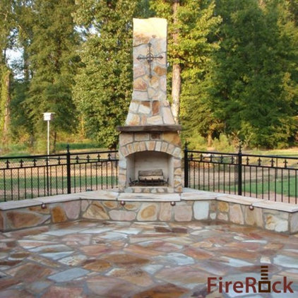 Eclectic Patio by FireRock Products