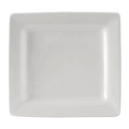 Tuxton - DuraTux 6 x 5 1/2 x 1 Rectangular Plate White - Case of 12 - DuraTux offers the widest selection of ceramic ovenware and accessory items in the industry. Our products are designed to handle the demands of any fastpaced environment  without breaking your budget. As with our dinnerware products all our ovenware items are fully microwavesafe, ovenproof, and dishwasherfriendly. Our Rectangles collection cultivates creative ways to display desserts, appetizers, sides, and so much more.