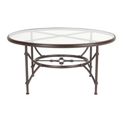 None - Origin Tempered Glass Aluminum Frame Espresso Finish Dining Table - This modern dining table features a sturdy aluminum frame,classy tempered glass top and espresso finish. Add a contemporary touch to your home with this sleek dining table.
