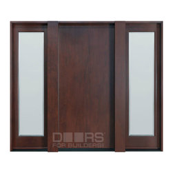 Modern Collection (Custom Solid Wood Doors) - DB-001F 2SL CST