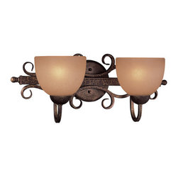 Minka Lavery - Minka Lavery ML 6722 2 Light Bathroom Vanity Light from the Caspian Collection - Two Light Bathroom Vanity Light from the Caspian CollectionFeatures: