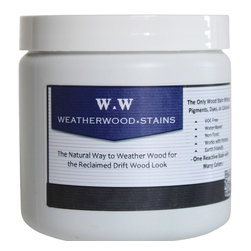 Weatherwood Stains, LLC - 1/2 Pint Weatherwood Stain, 1 Pint - At Weatherwood, we believe wood can be earth-friendly and look awesome too!