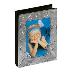 Godinger Silver - Baby Block Photo Album - Nice memories deserve an even nicer presentation. In this silver-plated baby album you can keep a loving record of baby's first tooth, first pose with grandpa and even first step. Give as a new baby gift or fill with your own photos to give at baby's first birthday     Dimensions: 5 x 2 x 7 inches.   Holds up to 100 4X6 photos.