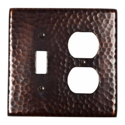 "The Copper Factory - Copper Factory Copper Switch Rectangle Plate Copper 4 7/8 x 4 7/8 "" - Copper Factory Copper Switch Rectangle Plate Copper 4 7/8 x 4 7/8 """