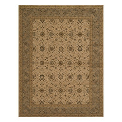 """Loloi Rugs - Loloi Rugs Stanley Collection - Ivory / Steel, 2'-6"""" x 7'-9"""" - The magnificent Stanley Collection features modern interpretations of the most sophisticated hand knotted designs. Recreated in Egypt with power loomed technology these gorgeous polypropylene area rugs offer an affordable alternative."""