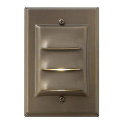 Hinkley - Hinkley One Light Matte Bronze Deck Light - 1542MZ-LED - This One Light Deck Light is part of the Led Deck Collection and has a Matte Bronze Finish. It is Outdoor Capable, and LED.