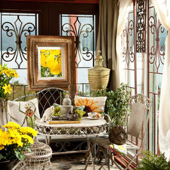 traditional porch by Indeed Decor
