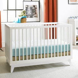 Ti Amo - Ti Amo Moderna 3-in-1 Convertible Crib Collection - BIVO064 - Shop for Cribs from Hayneedle.com! With its beautiful vintage look and modern practicality the Ti Amo Moderna 3-in-1 Convertible Crib Collection is the perfect set for any parent who loves classic beauty. This set includes a convertible crib and optional changing table. Made to grow with your child the crib converts to a toddler bed and then a daybed so your child can use this set for years. But while your baby is still little you can adjust the mattress platform of the crib into three different positions to help keep your child safe. Each item is made form solid wood and wood veneers and you have a variety of beautiful finishes to choose from. You'll love the changing table with tis partitioned topper which is designed for righties and lefties alike which has a small compartment that's perfect for storing diapers and wipes. The two drawers and two shelves provide plenty of storage space for extra burp cloths blankets diapers and more. And when your child is older simply remove the topper and you have a bookcase/toy chest that matches the rest of your child's furniture. Beautifully designed with a mixture of vintage and modern looks you and your child will love this set for years to come. Additional Features Mattress platform has 3 different positions Crib features fixed side rails Optional changing table 2 drawers and 2 shelves for plenty of storage space Partitioned topper designed for righties and lefties Topper fits a 17W x 36L contour changing pad Removable topper allows table to grow with child JPMA certified Meets all ASTM and CPSC safety standards 1 year warranty About Bivona & CompanyDedicated to creating nursery furniture that is both beautiful and functional Bivona delivers solidly made innovative children's furniture that never stints on safety. Valuing honesty integrity and reliability Bivona has built a team that not only understands how to design and build high-quality furniture but also one that is dedicated to providing outstanding nursery furniture at a great price.