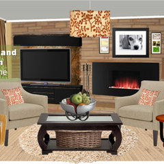 contemporary  by home and hearth magazine online