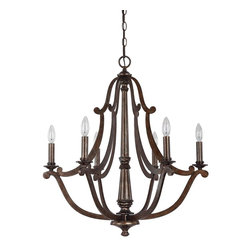 Capital Lighting - Corday 6 Light 1 Tier Chandelier - Capital Lighting 4366 Features: Capital Lighting 4366 Specifications: A family-owned company located just outside Atlanta, Georgia, Capital Lighting prides itself in delivering stylish, high-quality products at affordable prices.