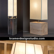 Modern Floor Lamps by KRAMER DESIGN STUDIO
