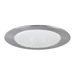 "Nora Lighting - Nora NTS-4222 4"" Albalite Shower Trim with Cone Reflector, Nts-4222n - 4"" Albalite Shower Trim with Cone Reflector Albalite Lens with Specular Clear Reflector and available in a variety of trim finishes."