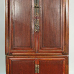 Antique Chinese Chest-on-Chest Cabinet - Antique Chinese Chest-on-Chest Cabinet
