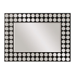Encore Rectangular-Framed Wall Mirror