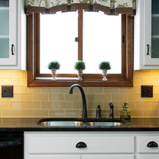 Eclectic Kitchen by Kathleen Ramsey, Allied ASID