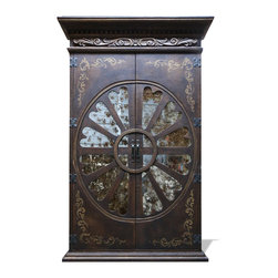 Armoires and Bookcases - Tuscan accents and Old World designs are flawlessly combined to give this piece a perfect blend of style and history.