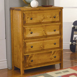 Coaster - Wrangle Hill 4 Drawer Chest - Wrangle Hill 4 Drawer Chest