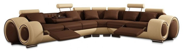 Contemporary Sectional Sofas by New York Furniture Outlets, Inc.