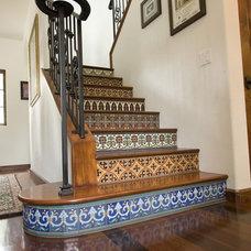 Mediterranean Staircase by www.LUXURYSTYLE.es