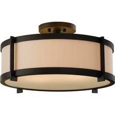 Craftsman Flush-mount Ceiling Lighting by Arcadian Home & Lighting