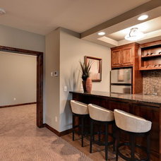 Traditional Basement by Hanson Builders, Inc.