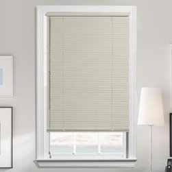 Levolor - Levolor Mark I Aluminum Mini Blinds, Metal Blinds - The Mark I 1 3/8-inch blind represents Levolor's premier quality horizontal blind.  Mark I blends style with functionality.  Featuring dozens of colors available with either the traditional lift system or the new Cordless lift system, these blinds are the ultimate in convenience and child safety.