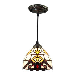 Tiffany Stained Glass Baroque Ceiling Pendant Lighting - Tiffany Stained Glass Baroque Ceiling Pendant Lighting. A Tiffany lamp is a type of lamp with a glass shade made with glass.The most famous was the stained leaded glass lamp. Tiffany lamps are considered part of the Art Nouveau movement.Antique Tiffany lamps blend fashion and function in a way that modern items rarely do.