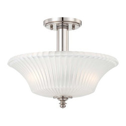 Minka Lavery - Minka Lavery 4307 2 Light Semi-Flush Ceiling Fixture from the Hayvenhurst Collec - Two Light Semi-Flush Ceiling Fixture from the Hayvenhurst CollectionFeatures: