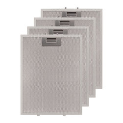 """Replacement Filter for 36"""" Brisote Series Stainless Steel Island Range Hood - These aluminum filters fit the 36"""" Brisote Series Island Range Hood. Clean up is easy, as they are dishwasher safe."""