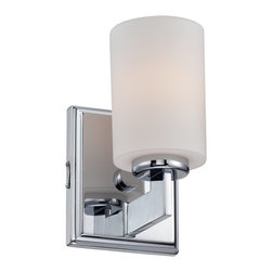 Quoizel - Quoizel TY8601C Taylor Contemporary Wall Sconce - Linear style and precise design are the elements of this strong contemporary collection.  The opal etched glass compliments both the western bronze as well as the antique nickel finishes.  With a variety of styles to choose from, Taylor will enhance any room in your home.
