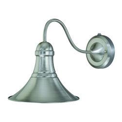 Vaxcel Lighting - Vaxcel Lighting T0037 Vesper 1 Light Outdoor Wall Sconce - Lamping Technology: