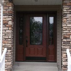 Front Doors by Thomas V. Giel Garage Doors
