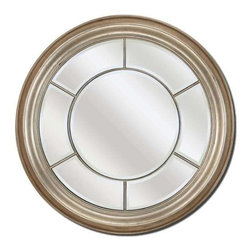 Paragon Art - Paragon Round Silver - Round Silver ,  Paragon Beveled Mirror       Mirror size is 38h x 38w. , Paragon has some of the finest designers in the home accessory industry. From industry veterans with an intimate knowledge of design, to new talent with an eye for the cutting edge, Paragon is poised to elevate wall decor to a new level of style.