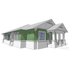 DanTyree.com   Unique House Plans, Castle House plans, Modern House Plans, Beach