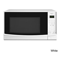 Whirlpool - Whirlpool 0.7-cubic foot Countertop Microwave with Electronic Touch Controls - With 700 watts of power and an easy to clean removable glass turntable,this Whirlpool microwave is easy to cook with ease. With an easy to see LED display,makes this microwave easy to use and a great addition to any kitchen.
