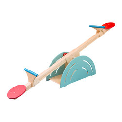 CedarWorks - Playroom SeeSaw - An indoor version of the outdoor classic. What kid (or parent for that matter!) doesn't love the retro stylings of our Playroom SeeSaw. As fun as it is beautifully designed. Assembly is required.