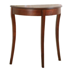 All Things Cedar - Knick Knack Table - Classic Accents: A truly inviting selection of Classic Accent Furniture FEATURING Console Sofa Tables Wooden Wine Magazine Racks, Nesting Tables, and Glass Cherry Curio Cabinates. Item is made to order.