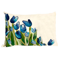 Contemporary Outdoor Pillows by authenTEAK Outdoor Living