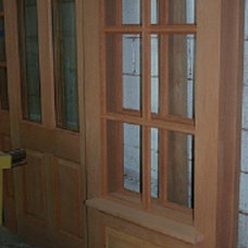 Traditional Front Doors by Bill's Custom Woodworking