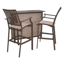 Panama Jack Island Breeze 3-Piece Bar Set