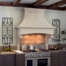 Transitional Kitchen by Old World Stoneworks
