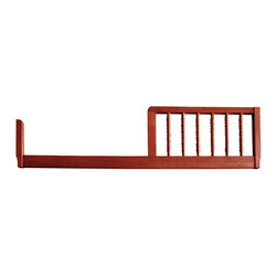 DaVinci - Jenny Lind Cherry-finish Toddler Rail - Let your Jenny Lind crib grow into a toddler bed with this nifty conversion kit. Engineered for ease and convenience, this toddler rail extends the use of your crib with added safety.