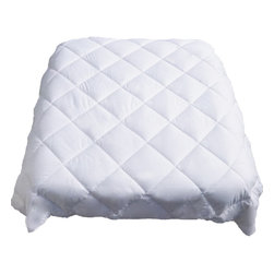 Le Vele - All Seasons White Goose Down Alternative Quilt-Comforter-Duvet Cover Filler, Kin - You will love our premier Aloe Vera goose down alternative comforter from Le Vele.