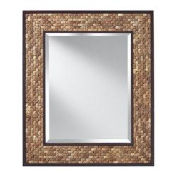 Murray Feiss - Murray Feiss Weave Mirror X-KCN1121RM - Murray Feiss Weave Mirror X-KCN1121RM
