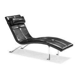 Bentley Lounge Chair- Black - Clayton Gray Home -