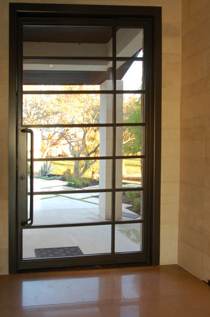 contemporary windows and doors by Cornerstone Architects