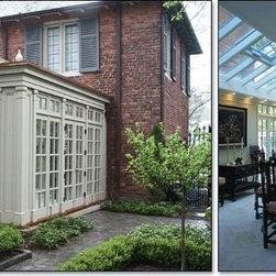 Flat Roof Orangery Design -