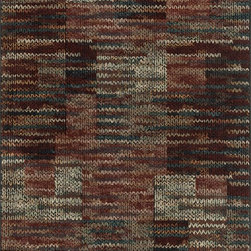 "Loloi Rugs - Loloi Rugs Vista Collection - Rust / Multi, 7'-7"" x 10'-5"" - Power loomed in Egypt, the Vista Collection offers striking pattern inspired by ethnic textiles. All nine designs share a color palette of desert hues like rust, taupe, and more on a 100% polypropylene fiber for strong durability. Available in six sizes including a scatter and a runner."